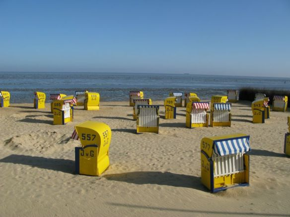 Een Duits strand.