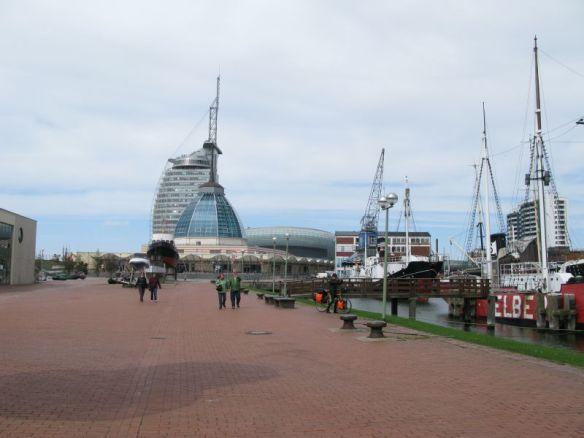Bremerhaven centrum.