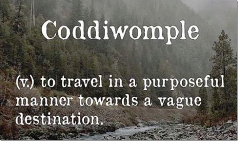 coddiwomble